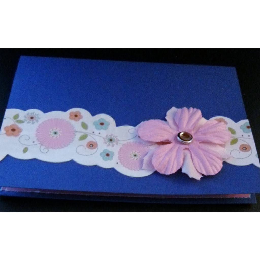 Birthday Wishes - Floral Handmade Good Greeting Supply Card - Cards And Other Paper Products - Made In U.S.A. - SharPharMade - 1