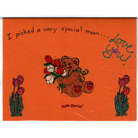 Mothers Day Handmade Good Greeting Supply Card - Cards And Other Paper Products - Made In U.S.A. - SharPharMade - 1