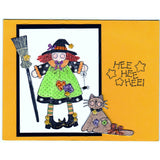Halloween Witch Handmade Good Greeting Supply Card - Cards And Other Paper Products - Made In U.S.A. - SharPharMade - 1