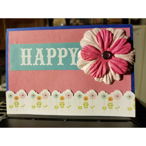 Happy Birthday Handmade Good Greeting Supply Card CLEARANCE