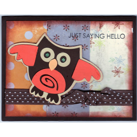 Just Saying Hello Handmade Good Greeting Supply Card - Cards And Other Paper Products - Made In U.S.A. - SharPharMade - 1