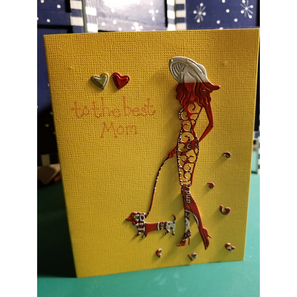 Happy ? Whatever For Female Handmade Good Greeting Supply Card  💋