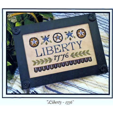 Needleworks Counted Cross Stitch Design Kit - Liberty  1776 Craft Tool Non-Vin Pattern