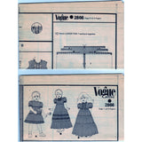 Vogue 2866 Children's Dress and Pinafore - Vintage Pattern - Vogue - SharPharMade - 3