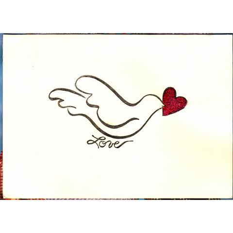 Lovey Dovey Handmade Good Greeting Supply Card - Cards And Other Paper Products - Made In U.S.A. - SharPharMade - 1