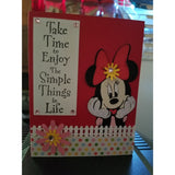 M Mouse Simple Life Handmade Good Greeting Supply Card CLEARANCE