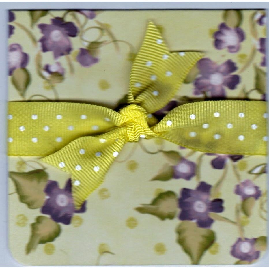 Floral Note Handmade Good Greeting Supply Card - Cards And Other Paper Products - Made In U.S.A. - SharPharMade - 1