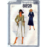 Simplicity 8828 Pattern Vintage Misses Skirt And Unlined Jacket