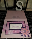 Thanks Handmade Good Greeting Supply Card CLEARANCE