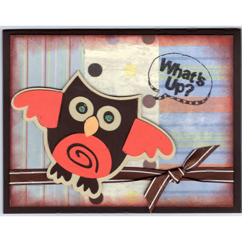 Whats Up Handmade Good Greeting Supply Card - Cards And Other Paper Products - Made In U.S.A. - SharPharMade - 1