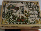 Hampton Arts Rubber Stamp Holiday Blending Nature L1684