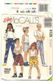 McCall's 4125 Pattern Vintage Girls' and Boys' Pants or Shorts