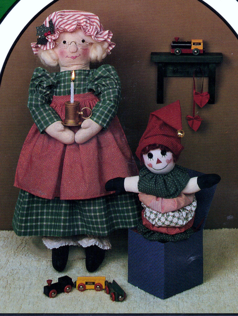 Dream Spinners #127 Mary Christmas Pattern Vintage Kit