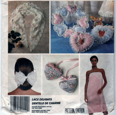 McCalls 3427 Pattern Vintage Lace Delight