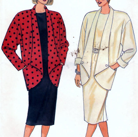 Butterick 4031 Pattern Vintage Misses Jacket And Dress