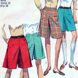 Simplicity 7212 Pattern Vintage Culottes In Two Lengths