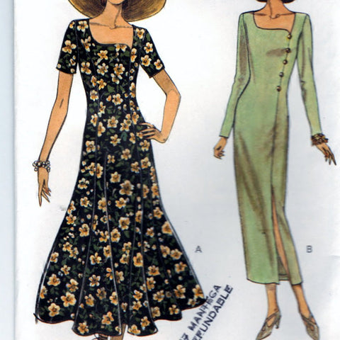 Very Easy Very Vogue 8673 Pattern Vintage Misses Dress