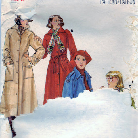 Butterick 5078 Pattern Vintage Misses Coat And Jacket