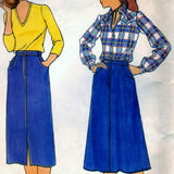 Butterick 6626 Pattern Quick Misses Skirt
