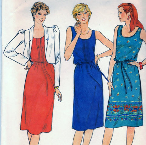 Butterick 4206 Pattern Misses Misses Petite Jacket, Dress and Belt