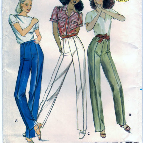 Butterick 3677 Pattern Vintage Misses Proportioned Pants