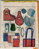 McCalls 8895 Pattern Vintage 25 Bazaar Boutique Items Craft Tool