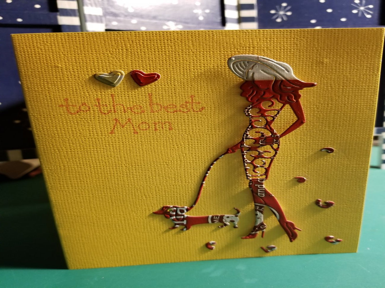 Halloween Boo Handmade Good Greeting Supply Card