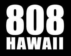 808 HAWAII decal