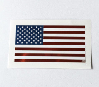 american flag decal