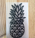black fineapple decal