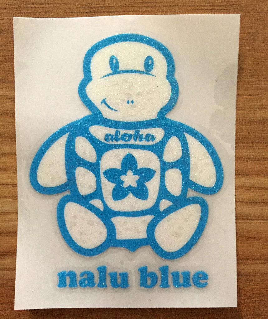 Glitter Honu Decal