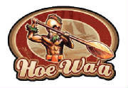 Hoe Waʻa Warrior Decal