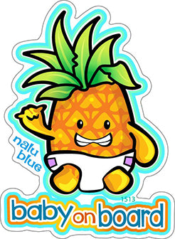 Cute Pineapple Baby Decal