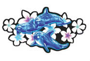 Pua Dolphins Decal