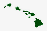 green hawaiian islands decals