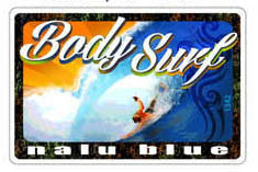 body surf wave decal