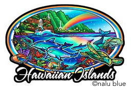 Hawaiian colorful coral reef