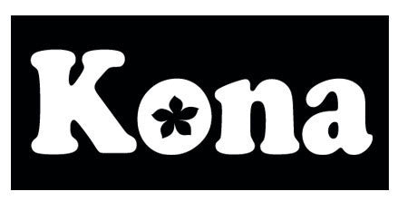 Kona with flower in O decal