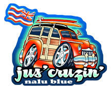 Jus' Cruzin' Decal