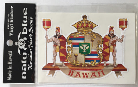 hawaiian crest decal