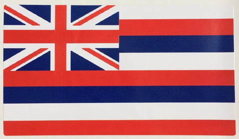 Hawaiian Flag Decal