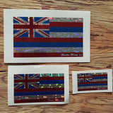 Holographic Hawaiian Flag Decal (Limited Edition)