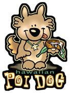 hawaiian poi dog decal