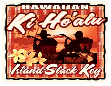 Island Slack Key Decal