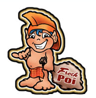 hawaiian menehune boy decal