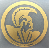 Gold Hawaiian Warrior Seal Decal