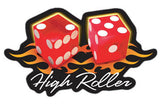 High Roller Dice Decal