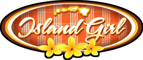 Island Girl Palaka Decal