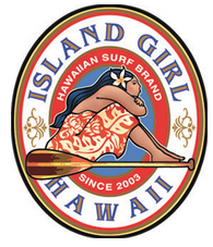 Island Girl Paddler Decal