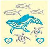 Whale Makie Decal Set
